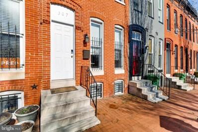 307 S Fremont Avenue, Baltimore, MD 21230 - #: MDBA462312