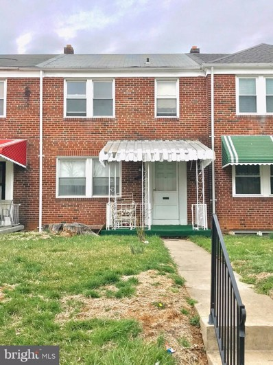 3934 Penhurst Avenue, Baltimore, MD 21215 - MLS#: MDBA462878