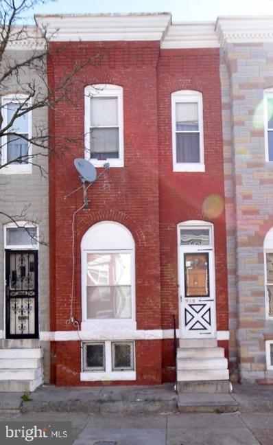 919 Appleton Street, Baltimore, MD 21217 - #: MDBA463058