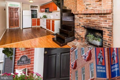 640 Dover Street, Baltimore, MD 21230 - #: MDBA463098