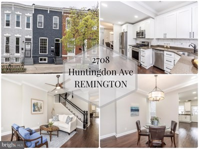 2708 Huntingdon Avenue, Baltimore, MD 21211 - #: MDBA463240