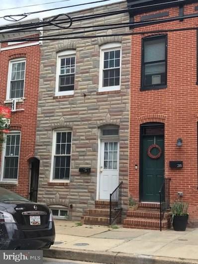 216 E Barney Street, Baltimore, MD 21230 - #: MDBA463408