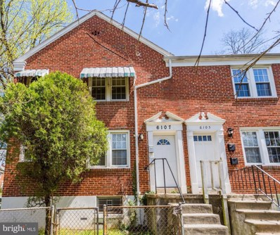 6107 Chinquapin Parkway, Baltimore, MD 21239 - #: MDBA463454