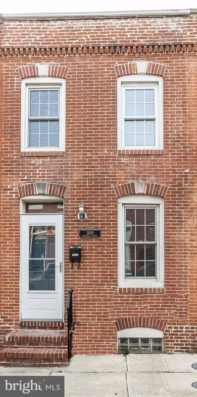 1618 Marshall Street, Baltimore, MD 21230 - #: MDBA463538