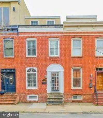 1510 S Hanover Street, Baltimore, MD 21230 - #: MDBA463678