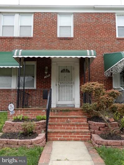 1655 Ralworth Road, Baltimore, MD 21218 - #: MDBA463682