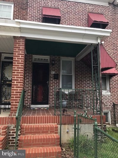 3310 Elmley Avenue, Baltimore, MD 21213 - #: MDBA464016
