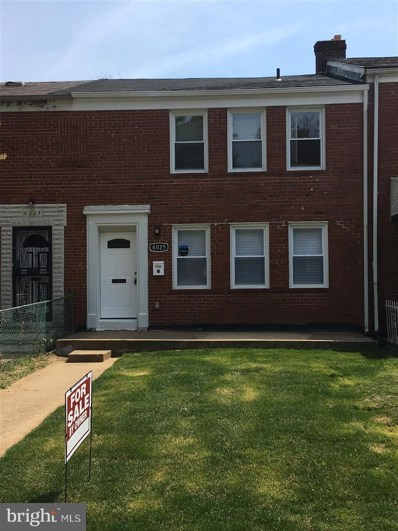 4025 Hilton Road, Baltimore, MD 21215 - #: MDBA464022