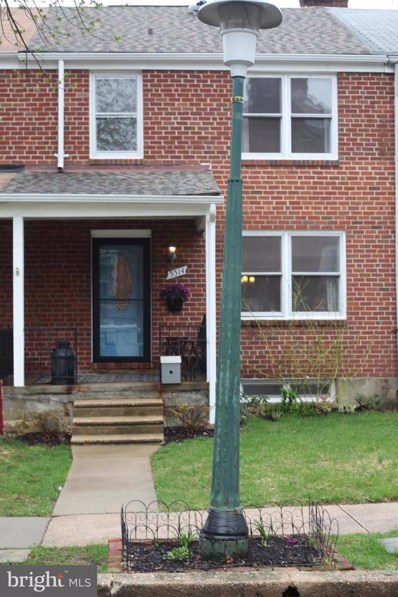 5514 Woodmont Avenue, Baltimore, MD 21239 - #: MDBA464096