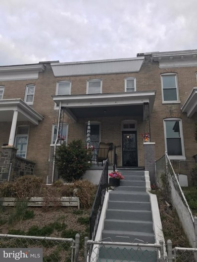1702 E 29TH Street, Baltimore, MD 21218 - #: MDBA464126