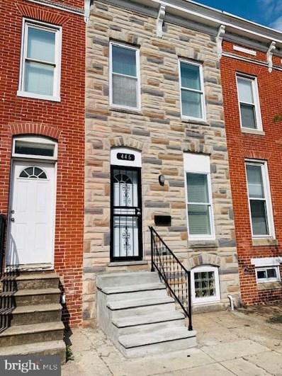 446 N Patterson Park Avenue, Baltimore, MD 21231 - #: MDBA464340