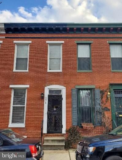 771 Carroll Street, Baltimore, MD 21230 - #: MDBA464412