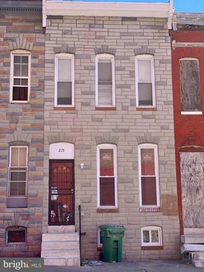 215 S Pulaski Street, Baltimore, MD 21223 - #: MDBA464452