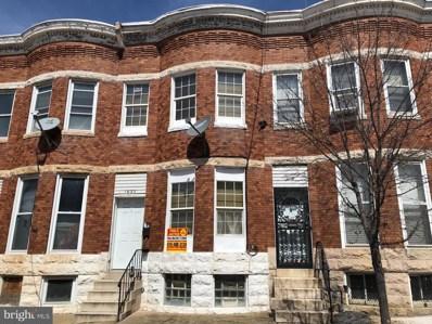 1932 W Fayette Street, Baltimore, MD 21223 - #: MDBA464506