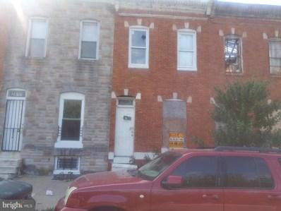 2613 W Fayette Street, Baltimore, MD 21223 - #: MDBA464510