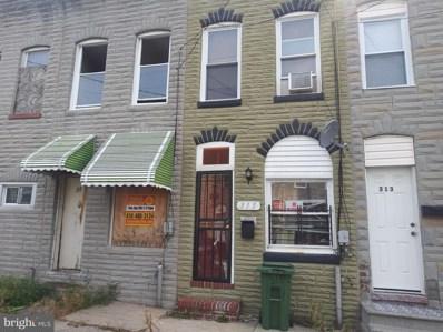 317 Loneys Lane, Baltimore, MD 21224 - #: MDBA464642