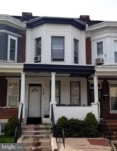 539 E 38TH Street, Baltimore, MD 21218 - #: MDBA464964