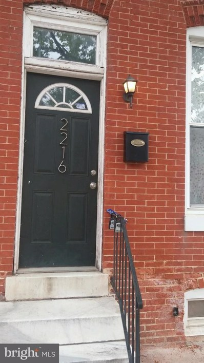 2216 Jefferson Street, Baltimore, MD 21205 - #: MDBA464976