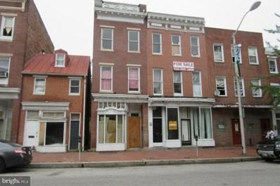 1408 W Baltimore Street, Baltimore, MD 21223 - #: MDBA465026