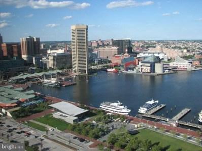 10 E Lee Street UNIT 2301, Baltimore, MD 21202 - MLS#: MDBA465130