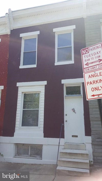 2541 W Lombard Street, Baltimore, MD 21223 - #: MDBA465276