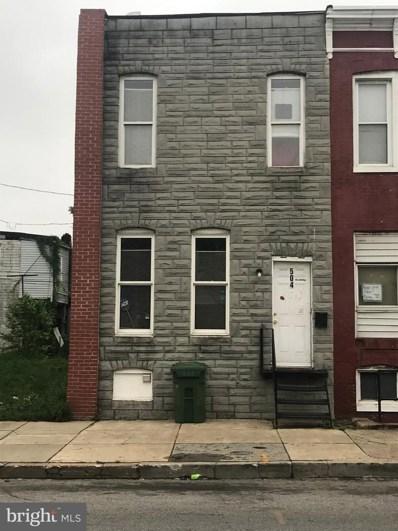 504 S Pulaski Street, Baltimore, MD 21223 - #: MDBA465404