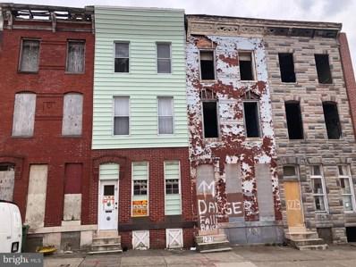 1219 Mosher Street, Baltimore, MD 21217 - #: MDBA465440