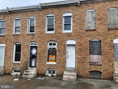 556 S Bentalou Street, Baltimore, MD 21223 - #: MDBA465670