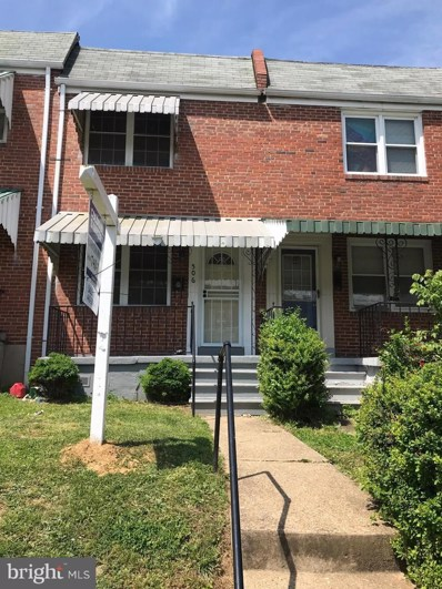 506 S Longwood Street, Baltimore, MD 21223 - #: MDBA466212