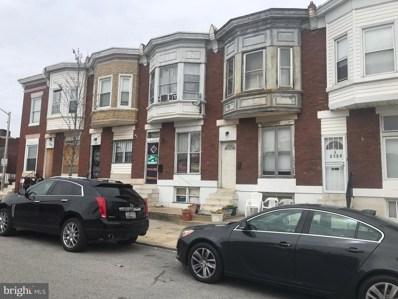 2858 Harlem Avenue, Baltimore, MD 21216 - #: MDBA466658
