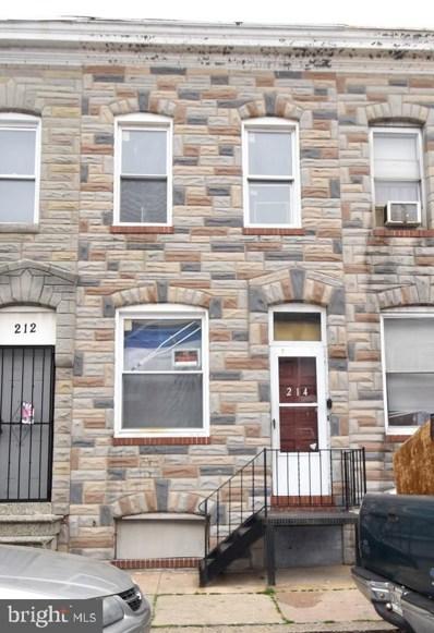 214 N Rose Street, Baltimore, MD 21224 - #: MDBA466958