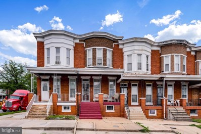 2954 Presstman Street, Baltimore, MD 21216 - #: MDBA467266