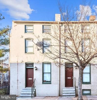 1214 W Lombard Street, Baltimore, MD 21223 - #: MDBA467320