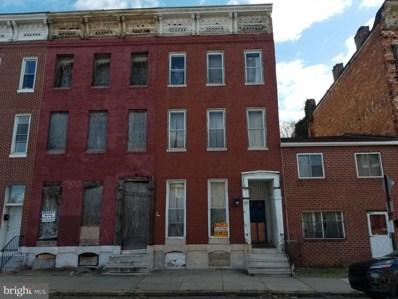 325 N Carey Street, Baltimore, MD 21223 - #: MDBA467568