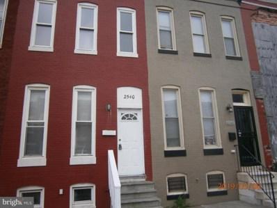 2540 Francis Street, Baltimore, MD 21217 - #: MDBA467630