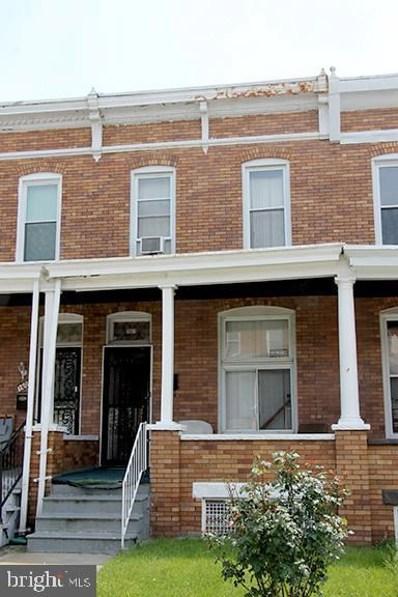 1607 E 29TH Street, Baltimore, MD 21218 - #: MDBA467636