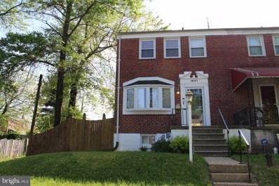 1647 Walterswood Road, Baltimore, MD 21239 - #: MDBA467662