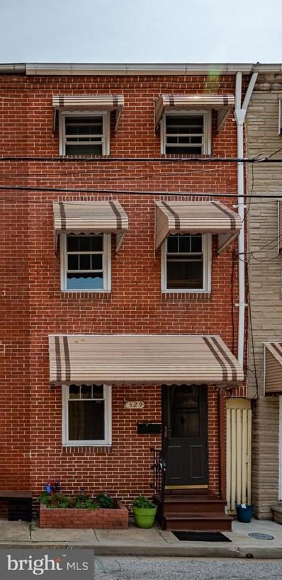 529 S Chapel Street, Baltimore, MD 21231 - #: MDBA467976