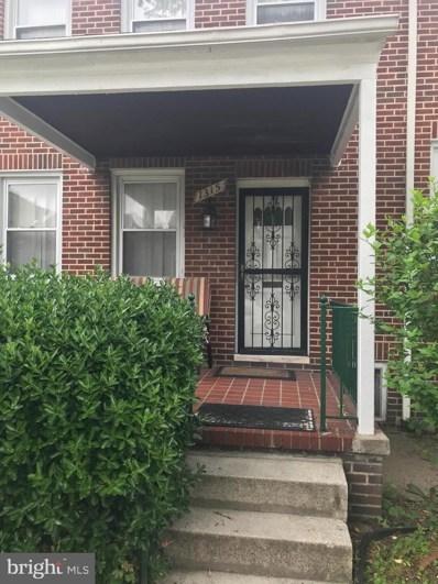 1315 N Ellwood Avenue, Baltimore, MD 21213 - #: MDBA468028