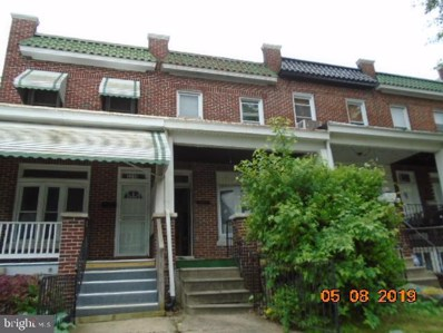 3321 W Caton Avenue, Baltimore, MD 21229 - #: MDBA468044