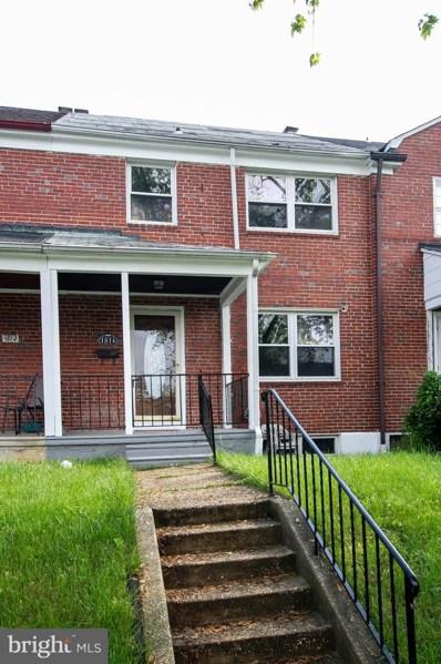 1814 Hillenwood Road, Baltimore, MD 21239 - #: MDBA468292