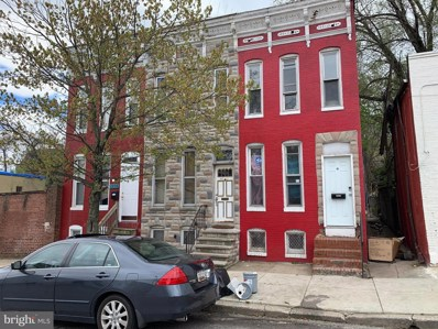1227 W Saratoga Street, Baltimore, MD 21223 - #: MDBA468386
