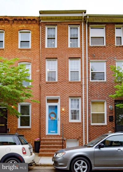 2130 Cambridge Street, Baltimore, MD 21231 - #: MDBA468408