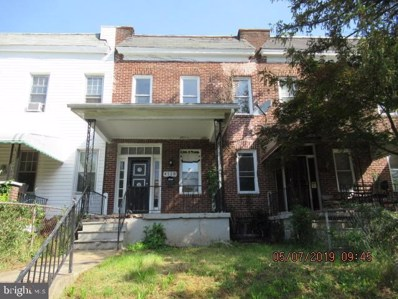 4118 Norfolk Avenue, Baltimore, MD 21216 - #: MDBA468700