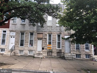 2221 Wilkens Avenue, Baltimore, MD 21223 - #: MDBA468836