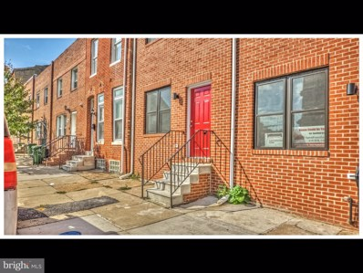 1036 Fayette Street, Baltimore, MD 21223 - #: MDBA469064