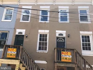 847 Reinhardt Street, Baltimore, MD 21230 - #: MDBA469250