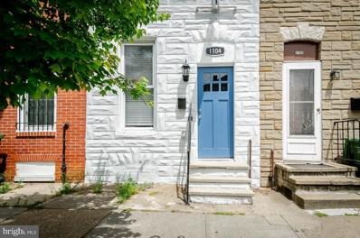 1104 W Lombard Street, Baltimore, MD 21223 - #: MDBA469286