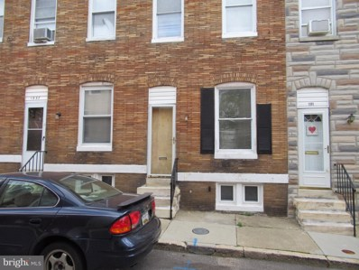 1939 Vine Street, Baltimore, MD 21223 - #: MDBA469476