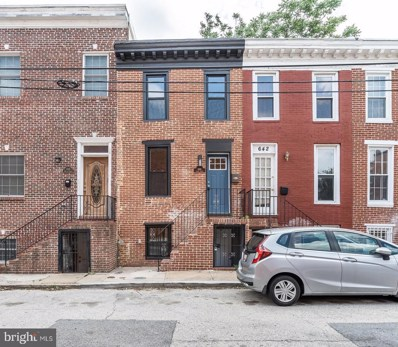 644 Wyeth Street, Baltimore, MD 21230 - #: MDBA469562